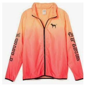 VS Pink Anorak Ombre Orange Rare Jacket